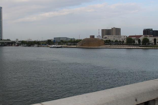 20150714新潟旅行:レンタサイクル 信濃川