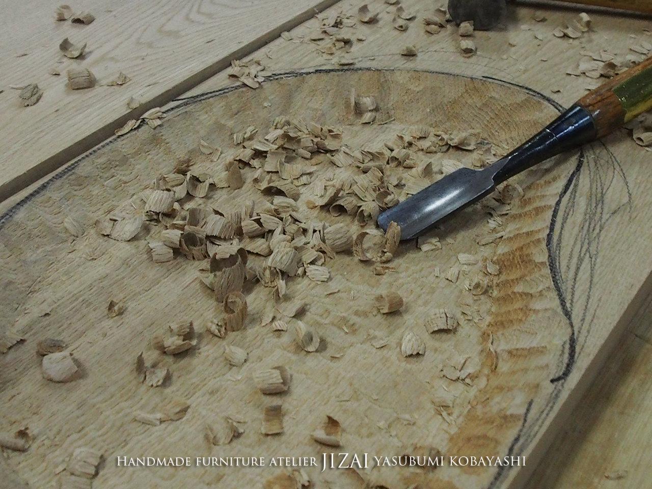 木の皿 那須高原 じざい工房 小林康文の素材を活かす家具づくり