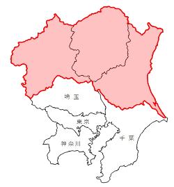 北関東3県