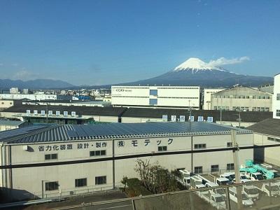 車窓(富士山)