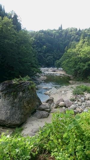 朝日川渓流1