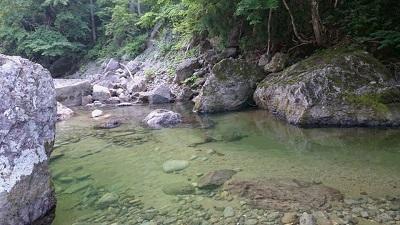 朝日川渓流2