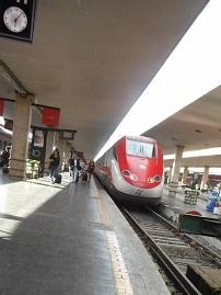 イタリア フィレンツエに到着 2014年6月23日