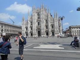 イタリア ドゥオーモ ミラノ大聖堂2014年6月22日