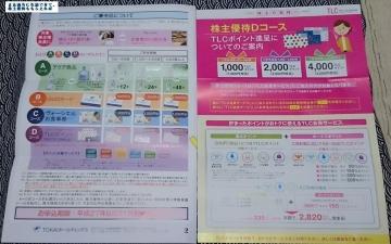 TOKAI HD 優待内容 201503
