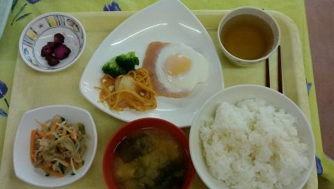 朝食の紹介
