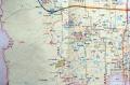 布施城跡地図
