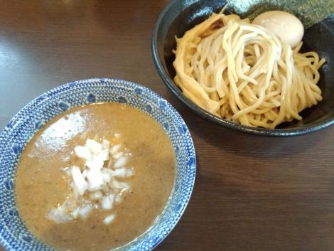鯵煮干パイパンつけ麺