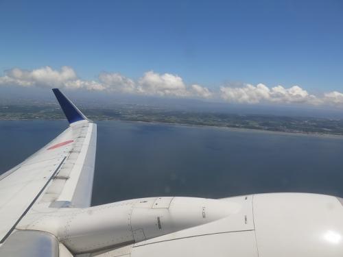 中部国際空港セントレアから離陸