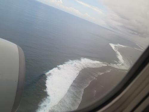 石垣島 着陸態勢