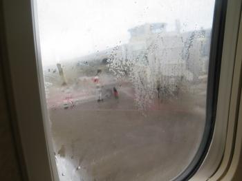 雨の南ぬ島 石垣空港