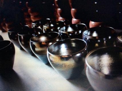 雅雷天目茶碗