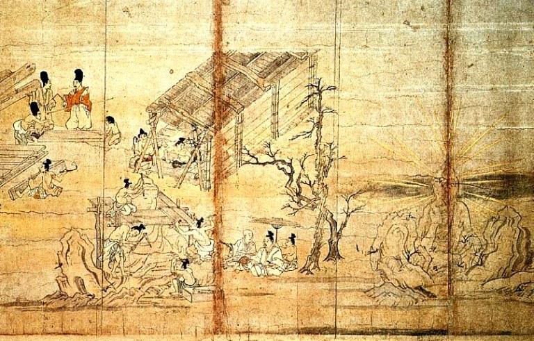 当麻寺縁起絵巻