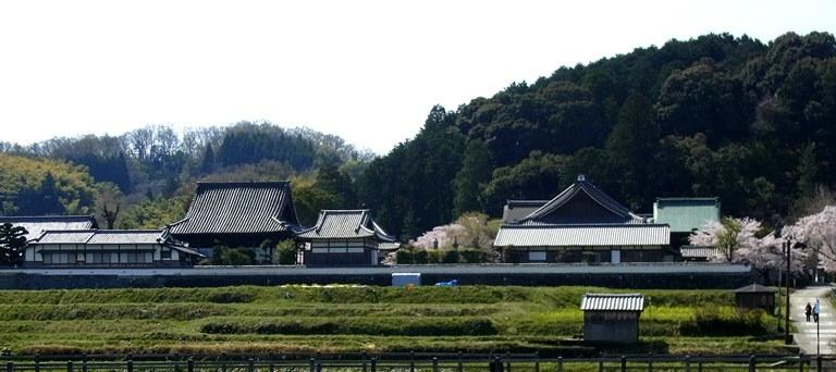飛鳥・橘寺~遠景
