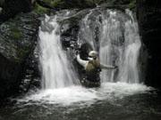028二段の滝