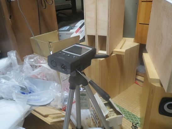 共鳴管実験機簡易測定