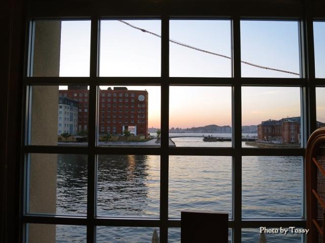 居酒屋海門からの眺め