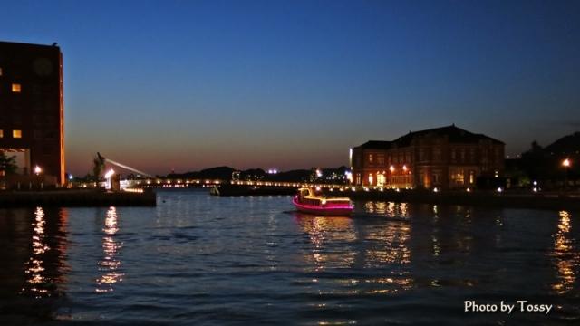 門司港レトロ夜景 ボート2