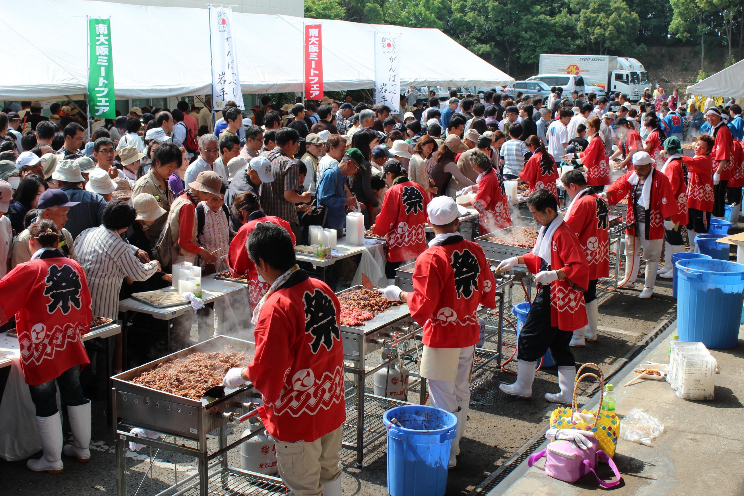 南大阪食肉市場でのミートフェアー(26年5月)
