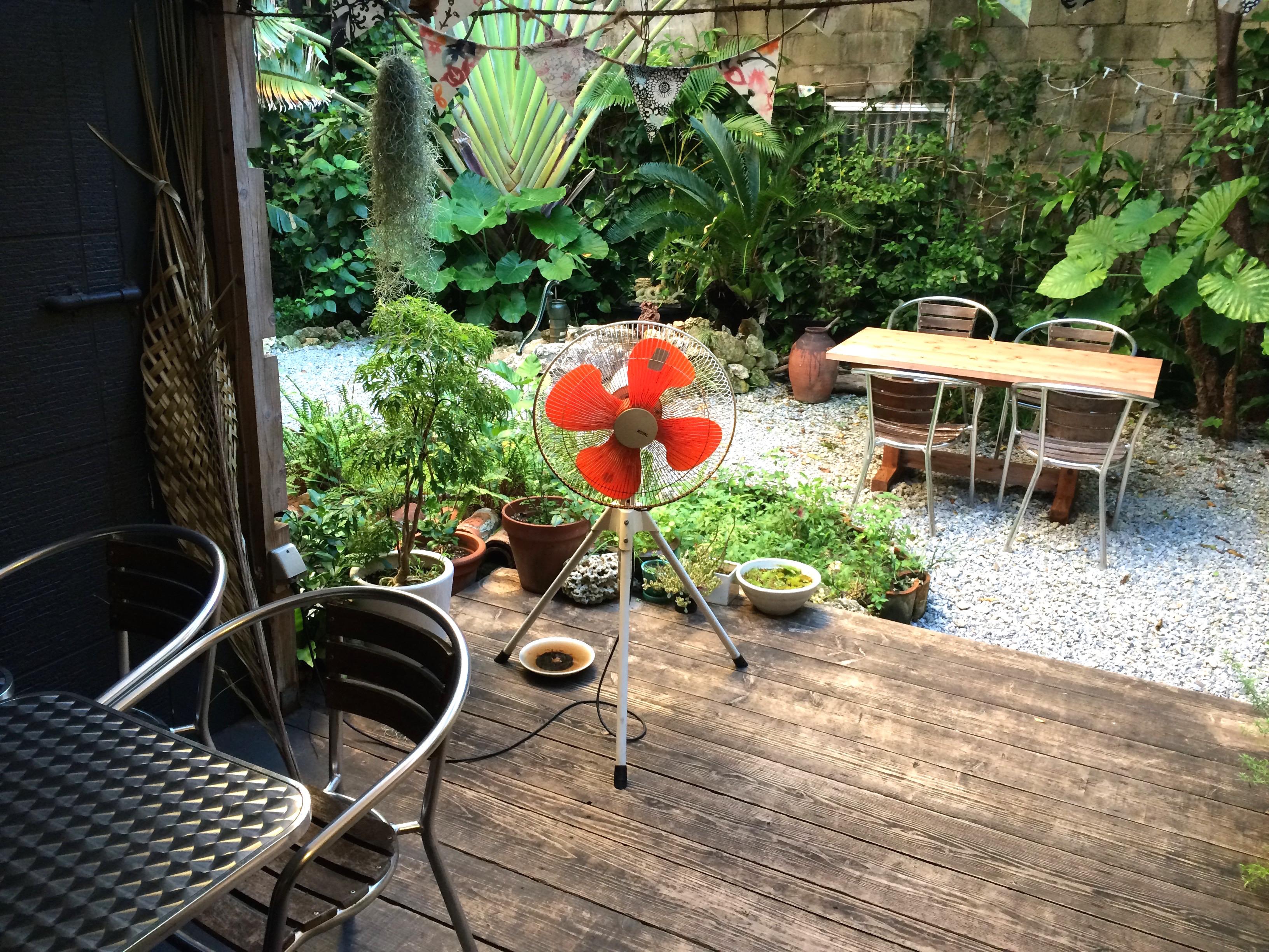 浮島ガーデン中庭