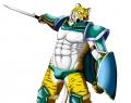 緑の鎧の虎獣人パンツ