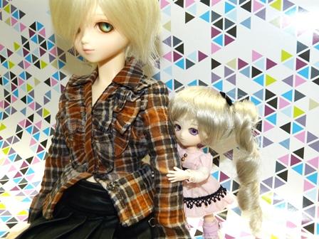 ソフィと2ショット-2