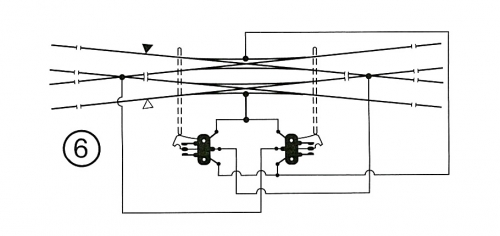 シングル・ダブルスリップの配線