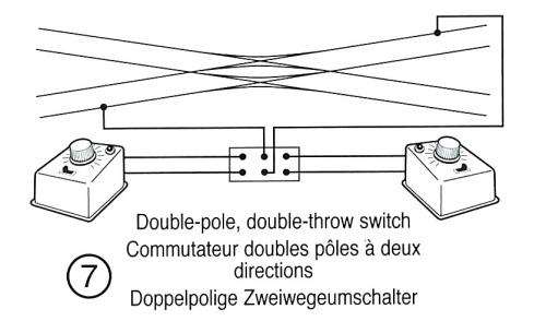 シングル・ダブルスリップの配線2