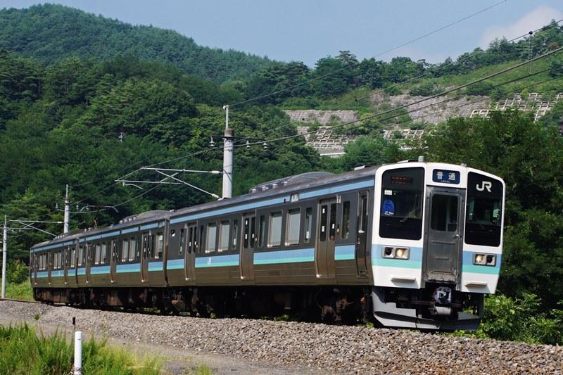 2015年8月2日 明科~西条にて (1)