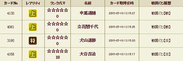 くじ履歴11