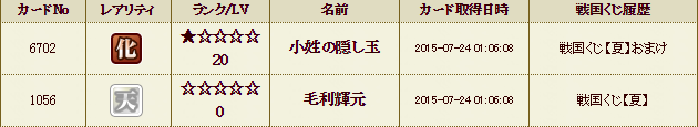 55鯖くじ履歴1