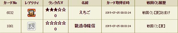54鯖くじ履歴2