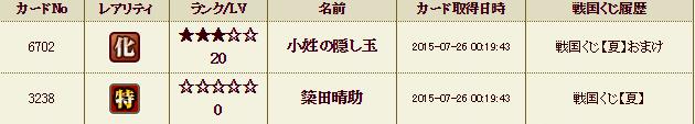 55鯖くじ履歴3