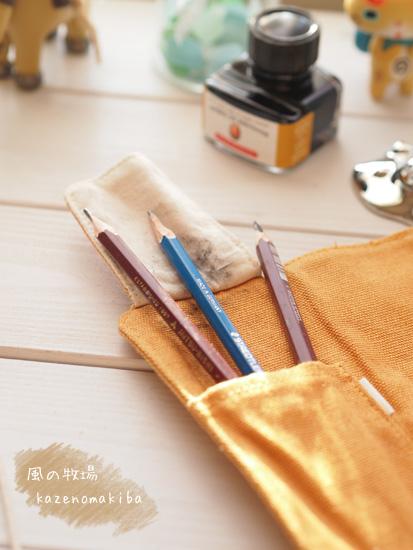 つけペンと鉛筆