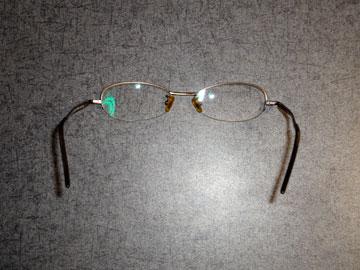 2世代前のメガネ