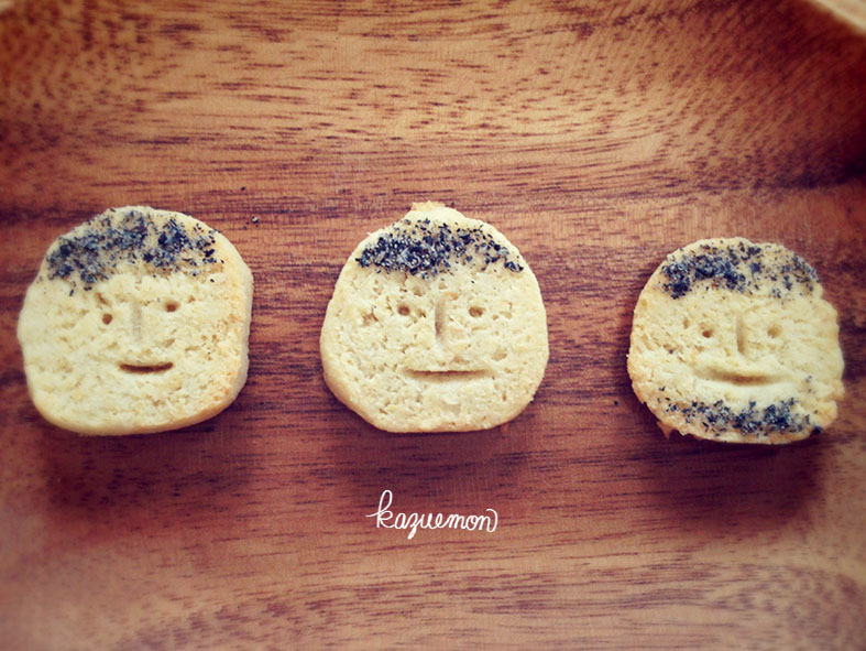 ひげクッキー