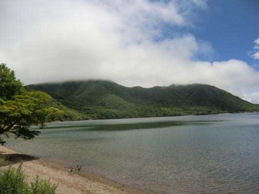 黒檜山は雲がとれない