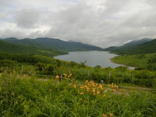 富士見峠から野反湖