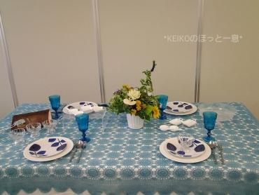 2015年夏のテーブルコーディネート