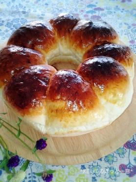 エンゼル型でちぎりパン2