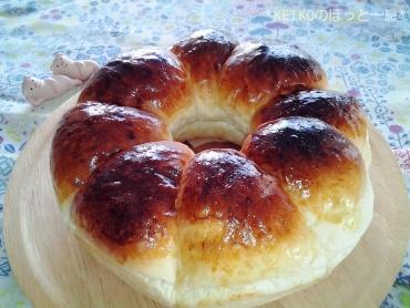 エンゼル型でちぎりパン3