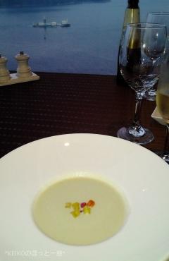 プリンスホテルえんどう豆のスープ