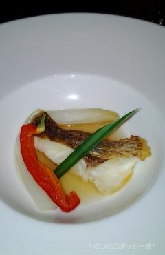 プリンスホテル魚料理