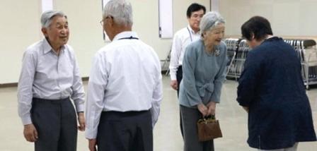 天皇福島訪問