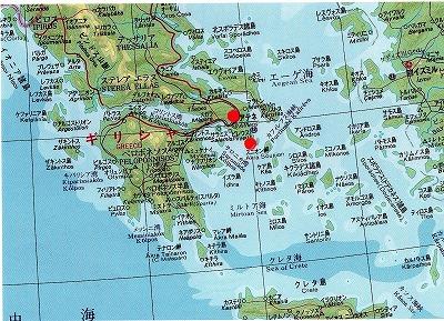 ピレウス地図