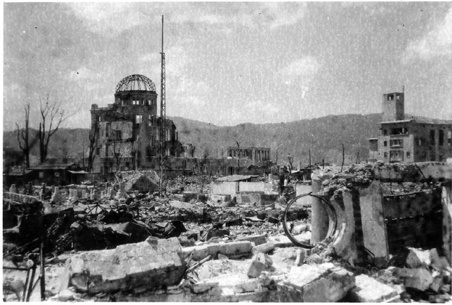 広島焼け跡