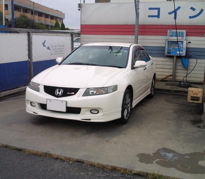 愛車洗車 2015年7月18日