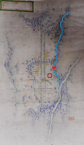 高見沢権之丞 絵図 フシコサッポロ川