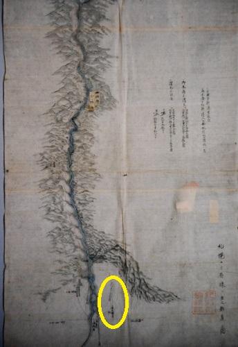 札幌ヨリ有珠二至ル新道 絵図