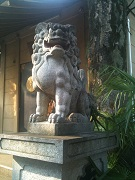須賀神社 狛犬